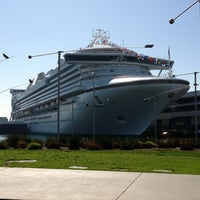 Photo taken at World Cruise Terminal by Dennis L. on 3/13/2013