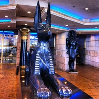 Photo taken at Luxor Hotel & Casino by Meg on 5/7/2013