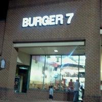 Photo taken at Burger 7 by Salwa k. on 10/25/2012