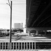 Photo taken at MetroLink - Grand Station by Chris V. on 2/12/2013