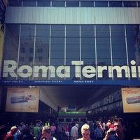 Photo taken at Roma Termini Railway Station (XRJ) by GN1 S. on 7/6/2013