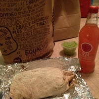 Photo taken at Chipotle Mexican Grill by Rosalie K. on 1/9/2014