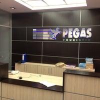 Photo taken at Pegas Touristik by Elmira B. on 5/23/2013