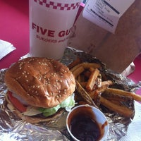 Photo taken at Five Guys by Stephanie D. on 3/21/2013