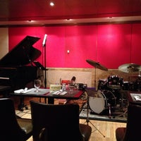 Photo taken at The Jazz Room at The Kitano by vivienne n. on 10/17/2015