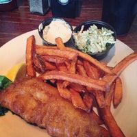 Photo taken at Shuckers Restaurant & Bar by chibirashka k. on 4/4/2013