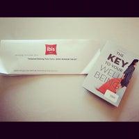Photo taken at Ibis Hotel by Atika A. on 10/13/2012