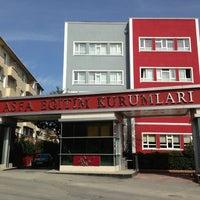 Photo taken at Asfa Eğitim Kurumları by Betül K. on 3/2/2013