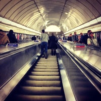 Photo taken at Angel London Underground Station by Simon S. on 7/2/2013