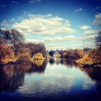 Photo taken at St James's Park by Simon S. on 4/6/2013