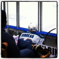 Photo taken at Worcester Sharks by Megan B. on 2/24/2013