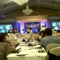 Photo taken at The Oberoi Grand by MS P. on 10/5/2012