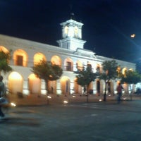 Photo taken at Plaza 9 de Julio by Nahuel R. on 10/10/2012