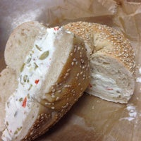 Photo taken at Manhasset Bagels by Collin B. on 8/19/2014