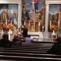 Photo taken at Church of Saint Agnes by Neko Y. on 11/21/2012