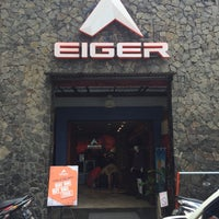 Photo taken at Eiger Adventure Store by VanShukor on 10/13/2016