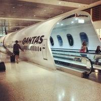 Photo taken at T3 Qantas Domestic Terminal by kobzer on 12/11/2012