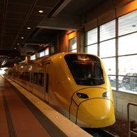 Photo taken at Arlanda Express (Stockholm C) by Mikhail R. on 7/28/2013
