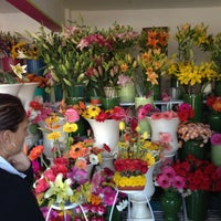 Photo taken at Florería Flores de Oaxaca by Carlitos V. on 12/14/2012