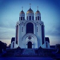 Photo taken at Кафедральный Собор Христа Спасителя by 🎀Ксения🎀 on 6/19/2013