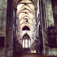 Photo taken at St. Sebald by Fritz on 6/3/2014