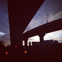 Photo taken at Si Rat Expressway Sector A by Boyd N. on 7/1/2013