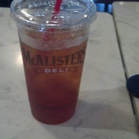 Photo taken at McAlister's Deli by Mark a. on 8/22/2013