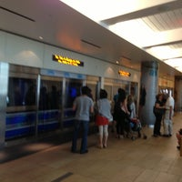 Photo taken at CityCenter Tram (Crystals) by Mike C. on 4/25/2013