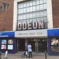 Photo taken at ODEON by Mike C. on 7/2/2014