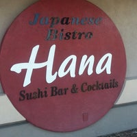Photo taken at Hana Japanese Restaurant by Cami H. on 2/11/2013