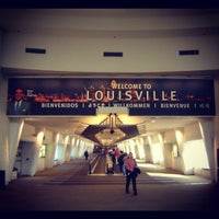 Photo taken at Louisville International Airport (SDF) by Gel Z. on 10/31/2012
