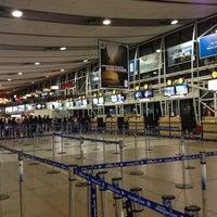 Photo taken at Aeropuerto Internacional Comodoro Arturo Merino Benítez (SCL) by Ignacio G. on 7/8/2013
