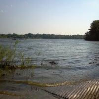 Photo taken at George Wyth Brinker Lake by Rebecca M. on 7/6/2013