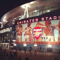 Photo taken at Emirates Stadium by Igor K. on 1/15/2013