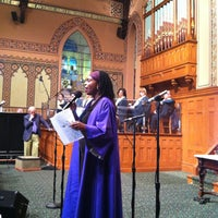 Photo taken at Middle Collegiate Church by Tina C. on 4/28/2013
