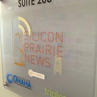 Photo taken at Silicon Prairie News by Allison B. on 7/19/2013