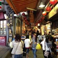 Photo taken at Jiufen Old Street by Toshiaki S. on 10/18/2012
