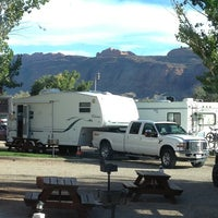 Photo taken at Moab Valley Rv by Christoph M. on 9/29/2013