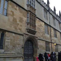 Photo taken at Duke Humfrey's Library by Georgy a. on 12/28/2012