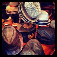 Photo taken at Goorin Bros. Hat Shop - French Quarter by David T. on 9/15/2012