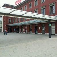 Photo taken at Klagenfurt Hauptbahnhof by Heinrich H. on 9/24/2012