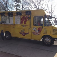 Photo taken at JJ's Hot Dog Truck by KEVIN P. on 4/14/2013