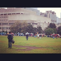 Photo taken at King's College Circle by Erin P. on 9/21/2012