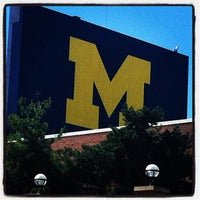 Photo taken at University of Michigan by Kari P. on 9/15/2012