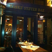 Photo taken at Hank's Oyster Bar by Egor P. on 11/11/2012