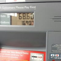 Photo taken at Chevron by Henry J. on 2/7/2014