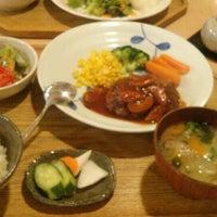 Photo taken at キッチン米一 by tetra p. on 5/11/2015