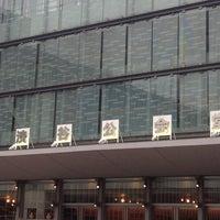 Photo taken at Shibuya Public Hall by Match S. on 7/13/2013