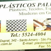 Photo taken at Plasticos Paludeto by Cristiane P. on 7/8/2013