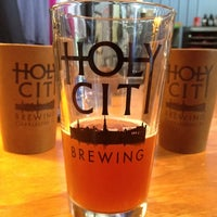 Photo taken at Holy City Brewing by Brian C. on 11/2/2012